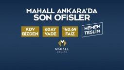 Mahall Ankara'da Son Ofisler! 0,69 Faiz, KDV Bizden!