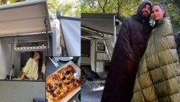 Yasemin-İzzet Özilhan çifti 300 bin TL'lik karavanlarıyla tatile çıktı