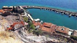 Assos'taki taş ıslahı projesi yargıya taşınıyor