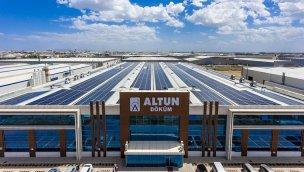 CW Enerji, Altun Döküm'ün çatısına güneş enerji santrali kurdu