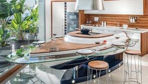 Aquamarine mutfak ile özgün tasarımlar evinizde!