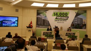 Gaziantep'te 14 bin konutluk dev proje için start verildi!