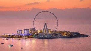 Dubai'de dünyanın en büyük dönme dolabı