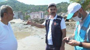 Bakan Kurum, Bozkurt'ta incelemelerini sürdürdü