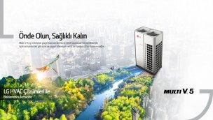 Rezidansların iklimlendirme çözümü LG Multi V5'te!