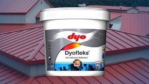 DYOFleks ile çatılarda tam yalıtım!