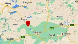 Diyarbakır Ergani'de 4 büyüklüğünde deprem!