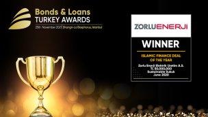 Zorlu Enerji'nin sukuk ihracına Bonds & Loans ödülü geldi!