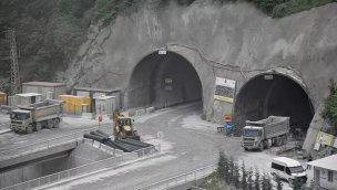 Yeni Zigana Tüneli Projesi'nde sona doğru!