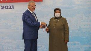 Diyarbakır'da dönüşüm projesinin anahtar teslimleri yapıldı