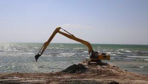 Van Gölü'nden 2 milyon 780 bin metreküp dip çamuru temizlenecek