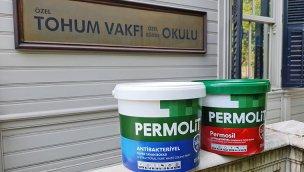 Tohum Otizm Vakfı Okulu, Permolit Antibakteriyel boyalarla yenilendi