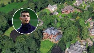 Cristiano Ronaldo, Manchester'da bu lüks evde yaşayacak!
