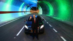 """""""19 yılda 567 kilometre uzunluğunda 364 tüneli hizmete açtık"""""""