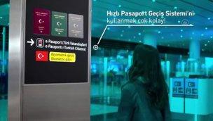 """İstanbul Havalimanı'ndan """"Hızlı Pasaport Geçiş Sistemi"""""""