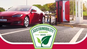 """Zorlu Enerji, ZES ile """"Sürdürülebilirlik Ödülü"""" aldı"""