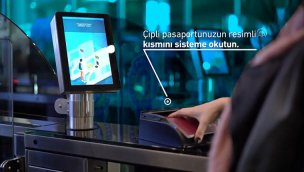 İstanbul Havalimanı'nda Hızlı Pasaport Geçiş Sistemi