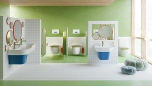 Vitra'dan çocuklara özel Sento banyo koleksiyonu!