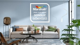 """Marshall 2022 yılının rengini seçti: """"Sonsuz Gökyüzü'"""
