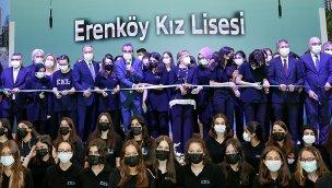 Depreme karşı yenilenen Erenköy Kız Lisesi açıldı