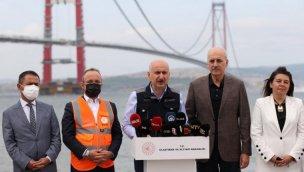 """""""Çanakkale 1915 Köprüsü'nü 18 Mart 2022'de halkımızın hizmetine açacağız"""""""