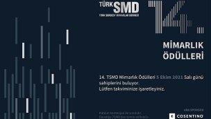 TürkSMD 14'üncü Mimarlık Ödülleri sahiplerini buluyor