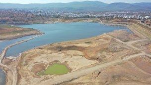 Mumcular Barajı'nda su seviyesi yüzde 10'nun altına düştü