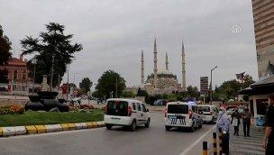 Selimiye Camisi meydanının düzenlenmesi için çalışmalara başlandı