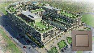 Günsan ürünleri Referans Bahçeşehir ve Ncadde Ottoman projelerinde yer aldı