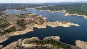 Trakya'daki barajların ortalama doluluk oranı %41'e geriledi