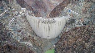 Yusufeli Barajı inşaatında yüzde 91'lik kısım tamamlandı