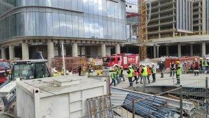 İstanbul Finans Merkezi'nde çıkan yangın söndürüldü