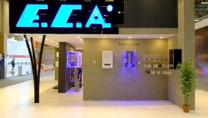 E.C.A. yeni elektrikli kombiyi ISK-SODEX Fuarı'nda tanıttı