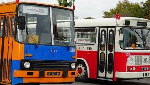 İETT'nin tarihi otobüsleri Taksim ve Sultanahmet'te!