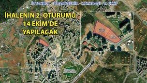 Emlak Konut Başakşehir Kayabaşı 8. Etap ihalesi 2. oturumu 14 Ekim'de!
