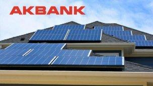 """Akbank'tan """"Çatı GES Yatırım Kredisi"""""""