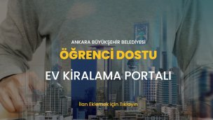 Ankara'da öğrencilerin ev sorununu çözecek portal!