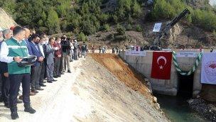 Mersin'deki Pamukluk Barajı su tutmaya başladı!