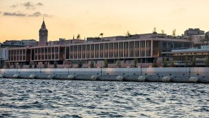 Galataport Istanbul'da Knauf'un ürünleri tercih edildi