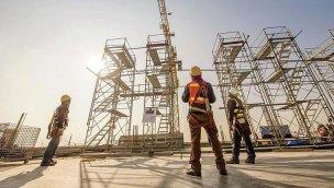 İnşaat sektöründe 8 ayda 300 bin kişiye iş kapısı açıldı