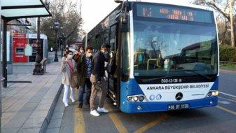 Ankara'da metro ve otobüslerin son sefer saatleri ileri alındı