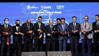Avrupa'nın en büyük gipe iplik fabrikası Tokat'ta açıldı