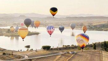 Afyonkarahisar'da balon turları başladı! Hedef yılda 4 milyon turist!