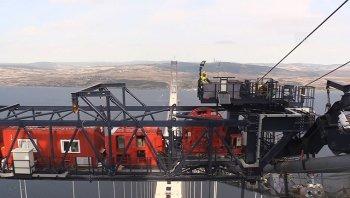 1915 Çanakkale Köprüsü 318 metrelik kulesinden işte böyle görüntülendi!