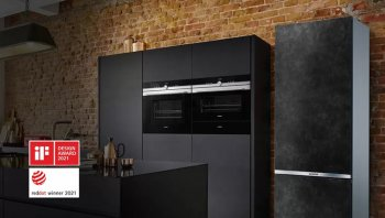 Siemens seramik kapılı buzdolabı selectedLine şimdi mutfaklarda!