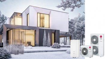 LG Therma V ile kış aylarında mükemmel ısınma!