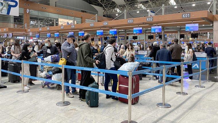 İstanbul Havalimanı'nı ziyaret eden yolcu sayısı 100 milyonu aştı!