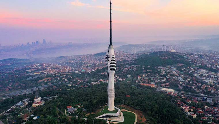 Çamlıca TV-Radyo Kulesi'nin tercihi Masdaf oldu!