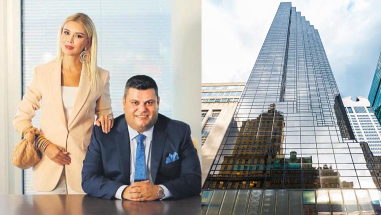 Baran-Elif Aras çifti Trump Tower'dan ev aldı!