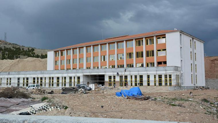Malatya'da okul binaları yeniden yükseliyor